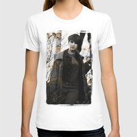 model T-shirts featuring Model by Michael Larkin