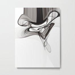 Smoky Noir Metal Print