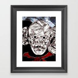 UNDEAD Framed Art Print