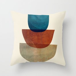 Abstract Shapes 37 Throw Pillow