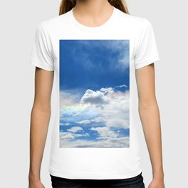 Clouds and rainbow T-shirt