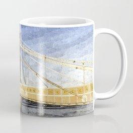 The Albert Bridge London Art Coffee Mug