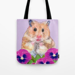 Cute Little Hamster Tote Bag