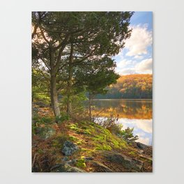 Lake Wintergreen Canvas Print