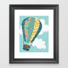 Float Away Framed Art Print