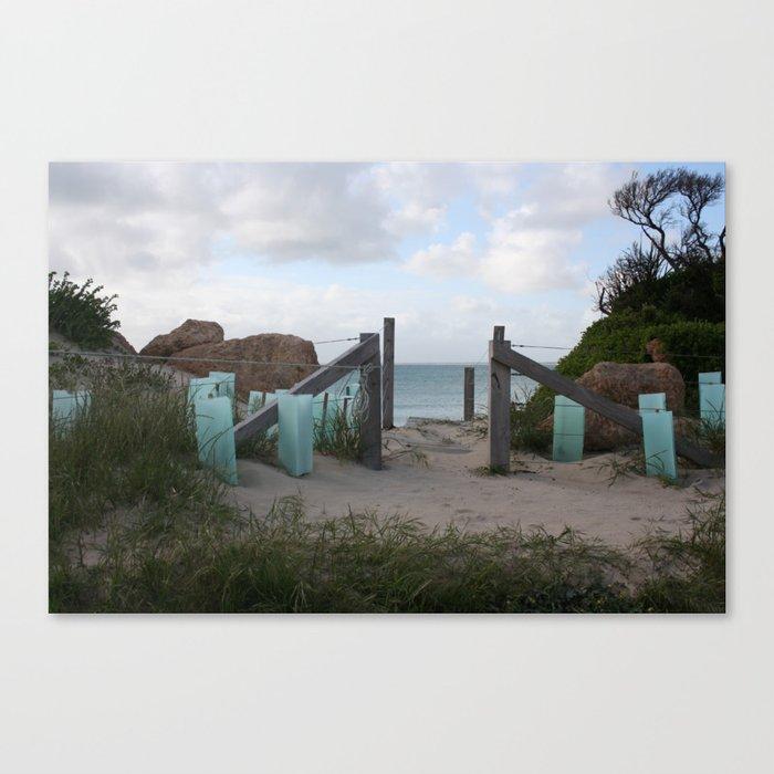 South End Canvas Print