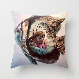 Just like an angelllllllll... Throw Pillow