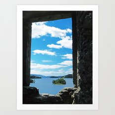 Loch Awe 3 Art Print