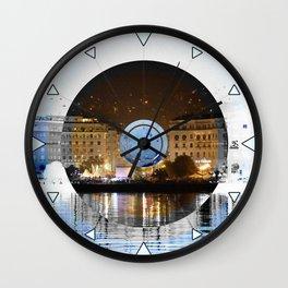 Thessaloniki Square Wall Clock