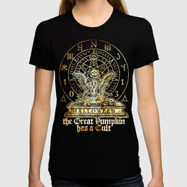Cult of the Great Pumpkin: Winged Hourglass T-shirt