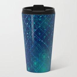 Cosmic Geometry Travel Mug