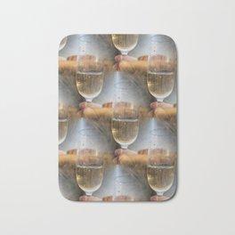 Magic of Ayers Rock makesh me shee multiple wine glasses... Bath Mat