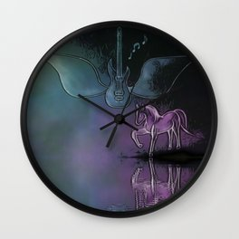 Sounds Of Freedom Wall Clock