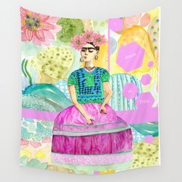 a dream of Frida Wall Tapestry