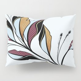 Colorful branch Pillow Sham
