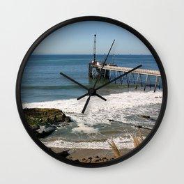 Carpinteria Pier Wall Clock