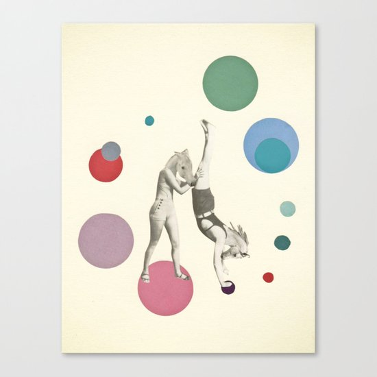 Horsing Around Canvas Print