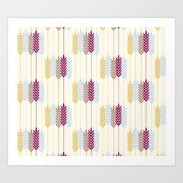 Harvest Wheat Art Print