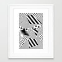 games Framed Art Prints featuring Beach Games by Tyler Spangler