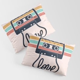 Vintage Love Songs Pillow Sham
