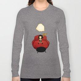 Make-believe a rainy cloud Long Sleeve T-shirt
