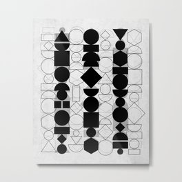 Geometry 6 Metal Print