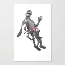 Analogue Grotesque (prt 1) Canvas Print