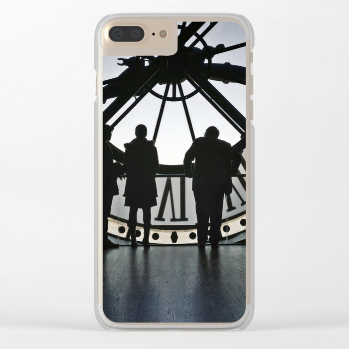Orsay Horloge Clear iPhone Case