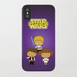 Star Wars Trio iPhone Case