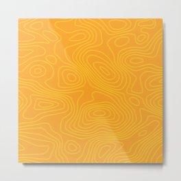 Golden grain Metal Print
