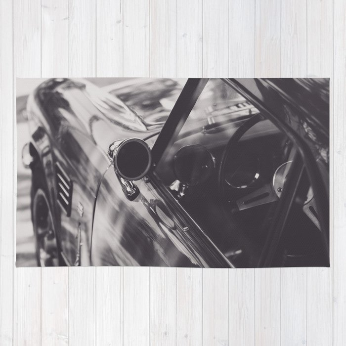Triumph Spitfire Black White Photography Peter Lindbergh Style