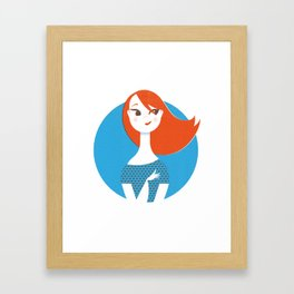 Bye-Bye love Framed Art Print