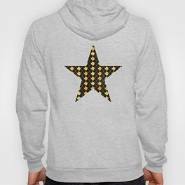 Black and golden scales pattern Hoody