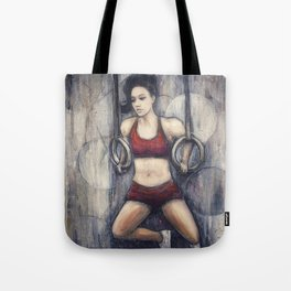 Strength and Beauty Tote Bag