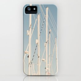 Sailing Masts #2 iPhone Case