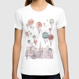 Voyages Over San Francisco ~ Refresh T-shirt