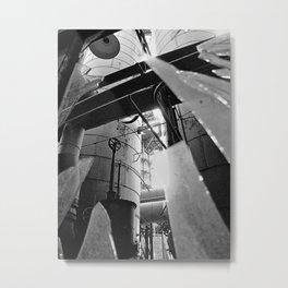 Sloss Furnace series 1 Metal Print