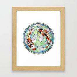 Koi Harmony Framed Art Print