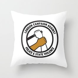 victims of police brutality Throw Pillow