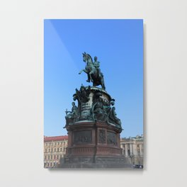 Monument to Nicholas the first. Metal Print