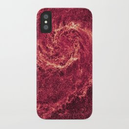 """Infrared"" Whirlpool Galaxy iPhone Case"