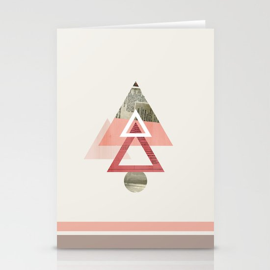 Our Very Modest Christmas Tree Stationery Cards