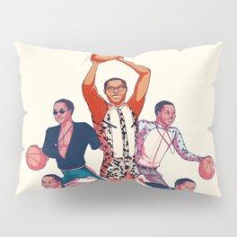 Crowning the Fashion King Pillow Sham