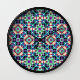 Purple Cave 4 NW Wall Clock