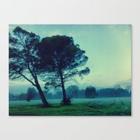 illusion Canvas Prints featuring Illusion by Anna Andretta