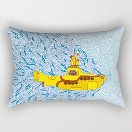 My Yellow Submarine Rectangular Pillow