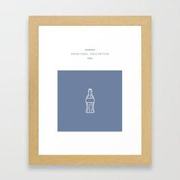 Warhol, Green Coca - Cola Bottles Framed Art Print