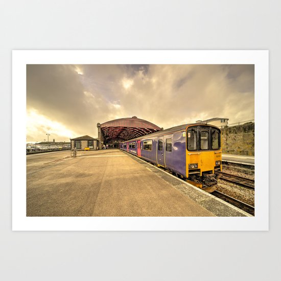 Penzance Station  Art Print