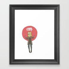 Bah-gel Framed Art Print