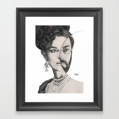 circlefaces Framed Art Print